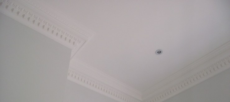 Restore textured ceilings to a smooth finish